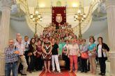 La UP de La Roda, de visita en el Palacio Consistorial