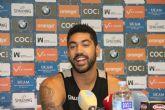 'Soy un jugador de defender, de coger rebotes y de correr todo el campo'