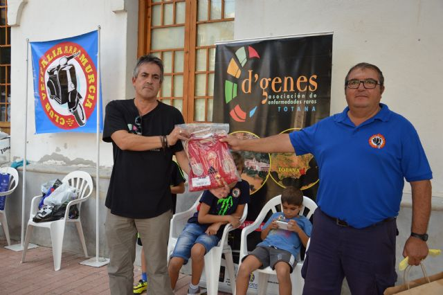 "A total of 231 euros was raised for the association D'Genes VII Vespaliada ""Ciudad de Murcia"", Foto 2"