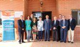 El presidente Alberto Garre visita el centro de Proyecto Hombre en El Palmar