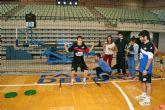 Los jugadores se someten a unos test para medir la velocidad, fuerza y potencia