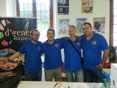 Un total de 231 euros se recaudaron para la asociación D´Genes en la VII Vespaliada 'Ciudad de Murcia'