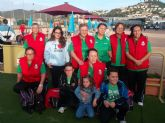 Las torreñas del 'Club La Salceda' firman un meritorio cuarto puesto en el nacional de petanca