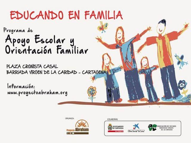 Educando en Familia combatirá la exclusión social en Virgen de la Caridad - 1, Foto 1