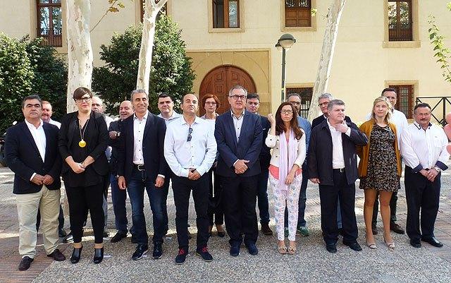 Tovar y los candidatos a las alcaldías de los principales municipios de la Región firman el Código Ético socialista por la transparencia y contra la corrupción