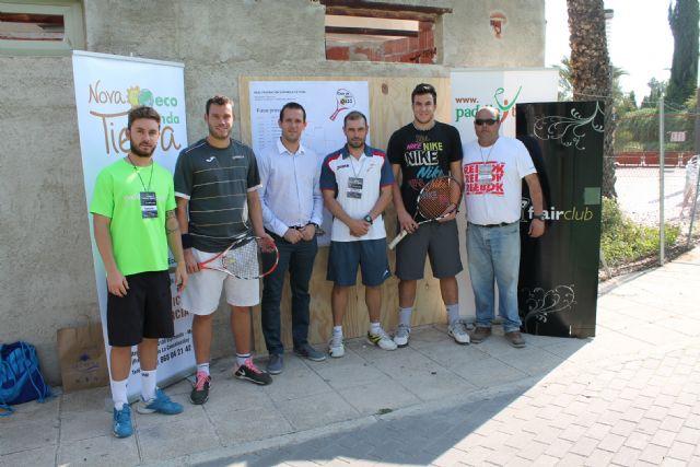 El Concejal García Nicolás inaugura el I Flair Club Absoluto de Tennis Open Oasis con participación de grandes jugadores de varios países - 1, Foto 1