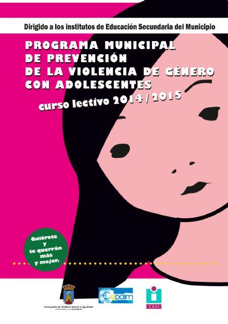 Técnicos y formadores potenciarán la autoestima entre los adolescentes para prevenir la violencia de género - 2, Foto 2