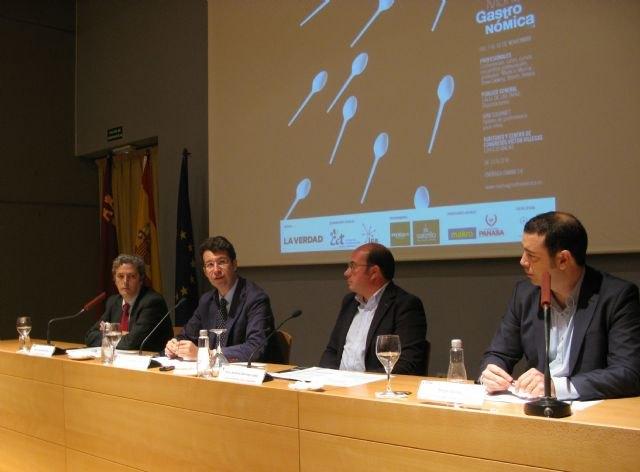 Los consejeros de Turismo y Cultura respaldan ´Murcia Gastronómica´ como el gran evento gastronómico del sureste español - 1, Foto 1