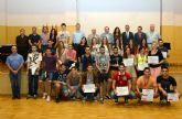 Entrega de premios a los alumnos ganadores del Torneo de Bienvenida de la Universidad de Murcia