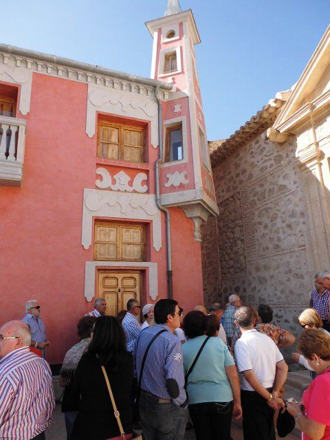 Un centenar de mayores del Centro Municipal de Día visita el Valle de Ricote - 1, Foto 1