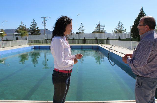 Puerto Lumbreras reutilizará anualmente más de 900.000 litros de agua de sus piscinas para labores de limpieza urbana - 1, Foto 1