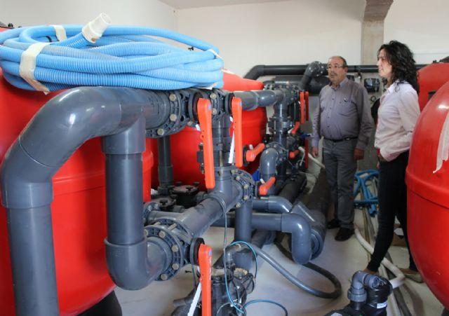Puerto Lumbreras reutilizará anualmente más de 900.000 litros de agua de sus piscinas para labores de limpieza urbana - 2, Foto 2