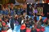 Más de 200 niños disfrutaron de Halloween en la plaza de la Constitución