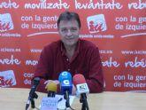 Saorín: 'En octubre, 1.073 contrataciones bajan en 43 los parados registrados en Cieza'