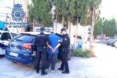 La Policía Nacional detiene en Molina de Segura al autor de un robo con violencia e intimidación
