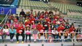 El CEIP Ricardo Codorni� visita a ElPozo Murcia para darle suerte en la Copa