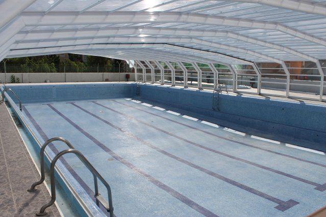 Terminan la instalación de la piscina municipal cubierta, Foto 3