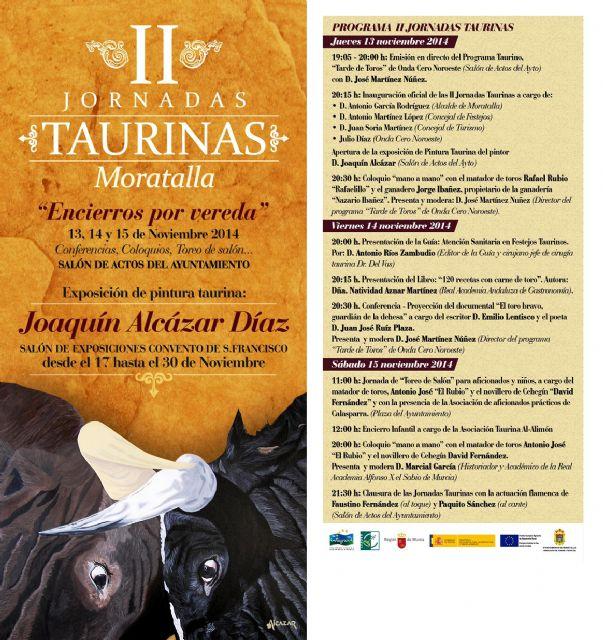 II Jornadas Taurinas Encierros por vereda de Moratalla - 1, Foto 1