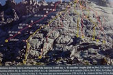"""Escaladores totaneros referenciados nuevamente en el último número de la Revista """"Desnivel"""", tras la apertura de una nueva vía de escalada bautizada como """"Totana Libre"""""""