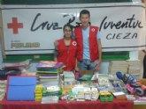 Finaliza la campaña de recogida de material escolar realizada por Cruz Roja Juventud Cieza