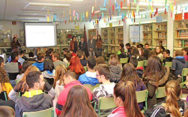 Estudiantes del IES Rambla de Nogalte asisten a una conferencia sobre cambio climático en el Día Mundial de la Ciencia para la Paz y el Desarrollo - 1, Foto 1