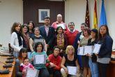 Se clausura un nuevo curso de habilidades sociales surgido del convenio entre el Ayuntamiento y Proyecto Abraham
