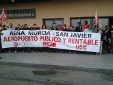 La sección sindical de USO en el aeropuerto de San Javier apuesta por su continuidad