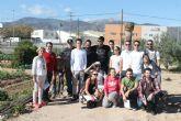 Alumnos de la UCAM visitan los huertos ecol�gicos