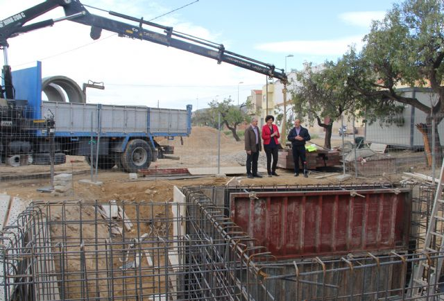 Comienzan las obras de otra estación de bombeo e impulsión de aguas residuales en la zona de Moncada de Puerto Lumbreras - 1, Foto 1