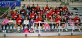 Los escolares del CEIP Ricardo Codorni� visitan a ElPozo Murcia FS