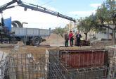 Comienzan las obras de otra estación de bombeo e impulsión de aguas residuales en la zona de Moncada de Puerto Lumbreras