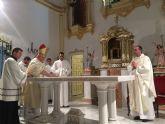 Mons. Lorca Planes consagra la iglesia del monasterio de las Clarisas de Santomera