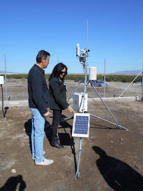 Instalan en Leiva una estación meteorológica para controlar plagas y estudiar la implantación de nuevos cultivos, Foto 1