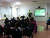 El Gabinete de Educación Vial de la Policía Local pone en marcha una experiencia piloto en el colegio Samaniego