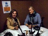 La pintora Guillermina Sánchez Oró lleva su arte a Alguazas Radio 87.7 FM