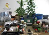 La Guardia Civil desmantela dos puntos de venta de marihuana en San Javier