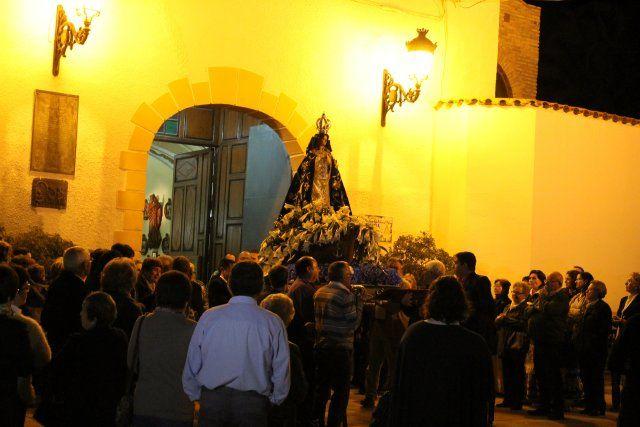 Los mazarroneros rinden homenaje a la patrona con la tradicional ofrenda de flores - 5, Foto 5