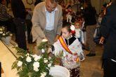 Los mazarroneros rinden homenaje a la patrona con la tradicional ofrenda de flores