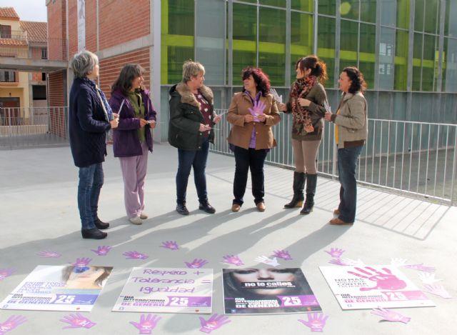 Puerto Lumbreras conmemora el próximo domingo el Día Internacional contra la violencia de género con una Marcha Solidaria - 1, Foto 1