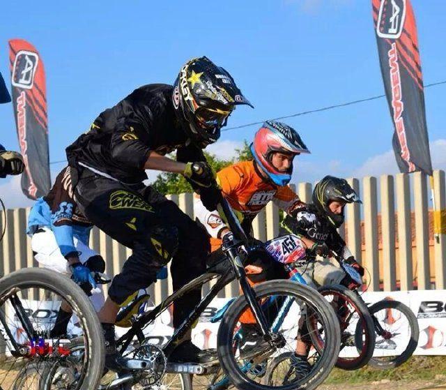 El Complejo Deportivo alberga una prueba ciclista clinic BMX - 3, Foto 3