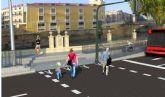 Calidad Urbana inicia hoy las obras de rehabilitación y mejora de la accesibilidad entre el Puente de los Peligros y el Puente Miguel Caballero