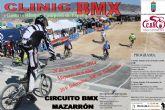 El Complejo Deportivo alberga una prueba ciclista clinic BMX