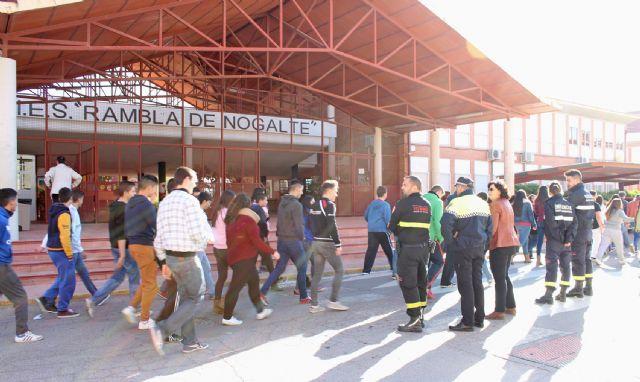 Simulan incendios en los centros educativos de Puerto Lumbreras - 1, Foto 1