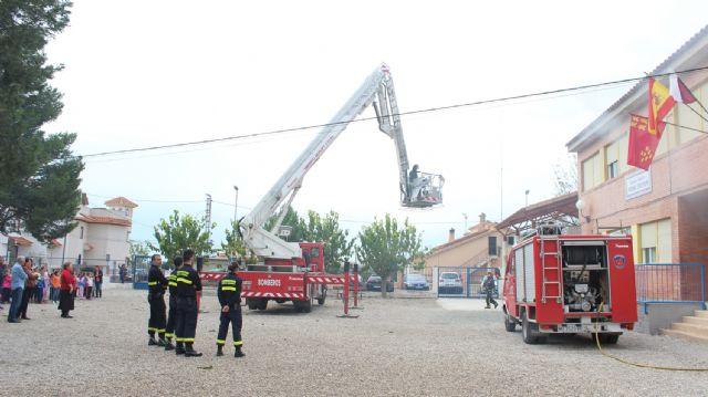 Simulan incendios en los centros educativos de Puerto Lumbreras - 2, Foto 2