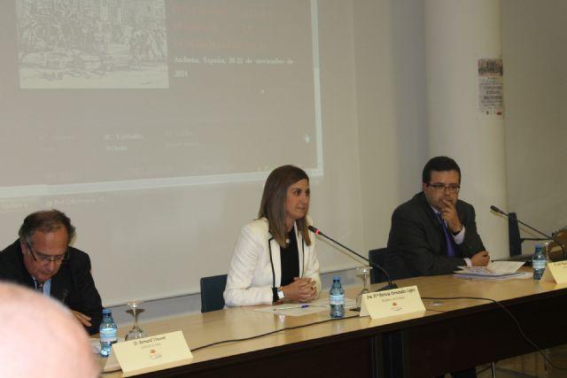 La Alcaldesa de Archena y el prestigioso Bernard Vincent inauguran las X Jornadas de los Exilios y Retornos donde participarán expertos de 12 países - 1, Foto 1