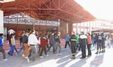Simulan incendios en los centros educativos de Puerto Lumbreras