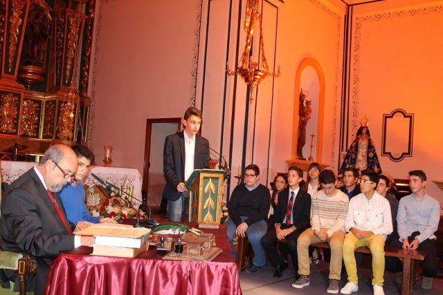 Jóvenes del IES Domingo Valdivieso interpretan junto al alcalde las nueve declaraciones del Milagro - 1, Foto 1