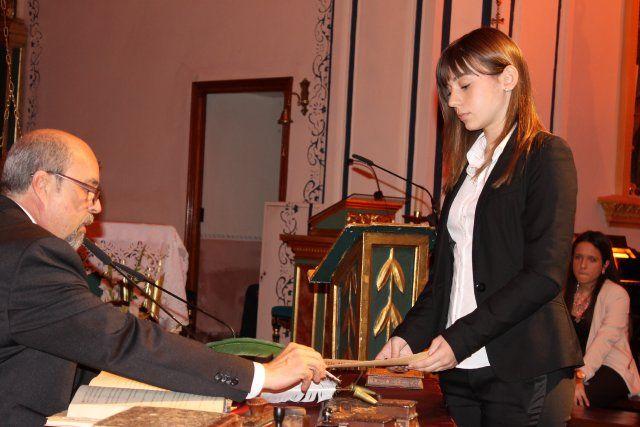 Jóvenes del IES Domingo Valdivieso interpretan junto al alcalde las nueve declaraciones del Milagro - 3, Foto 3