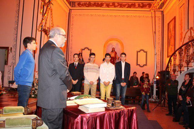 Jóvenes del IES Domingo Valdivieso interpretan junto al alcalde las nueve declaraciones del Milagro - 4, Foto 4