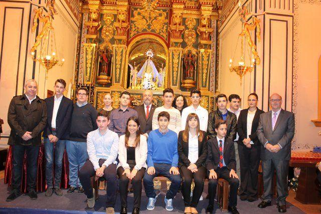 Jóvenes del IES Domingo Valdivieso interpretan junto al alcalde las nueve declaraciones del Milagro - 5, Foto 5